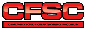Certified Functional Strength Coach logo